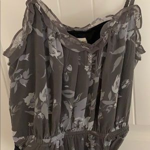 American Eagle Outfitters grey dress
